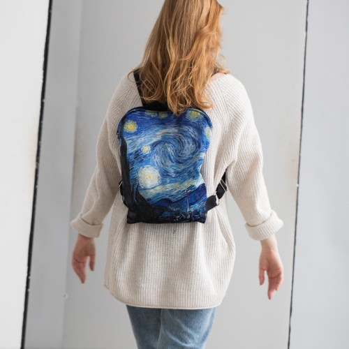 """Backpack Vincent van Gogh """"The Starry Night"""" BP86016"""