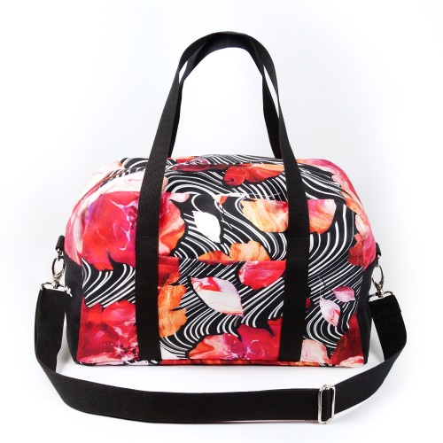 """Travel / Sports Bag """"BLOOMING FIRE"""" TRBE102"""