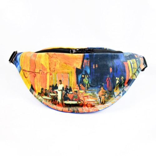 """Fanny Pack. Vincent Van Gogh """"Cafe Terrace at Night"""" TB10222"""
