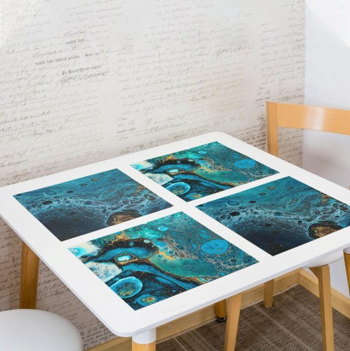 """Table placemat set """"Lagoon"""""""