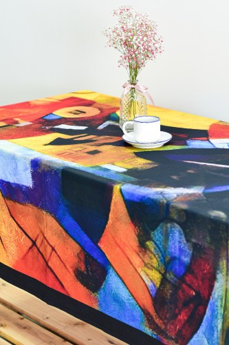 """Tablecloth """"Abstract"""" TC6000"""