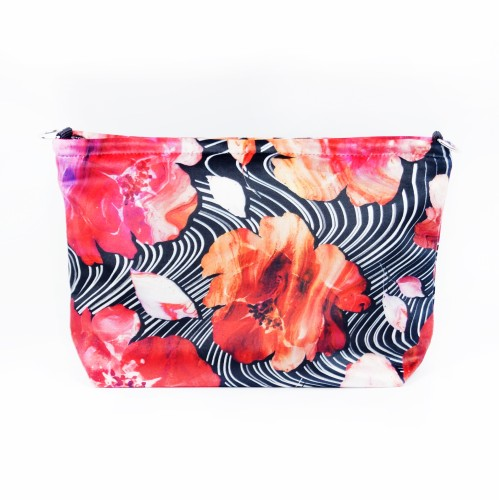 """Cosmetic Bag """"Blooming Fire"""" CBE102"""