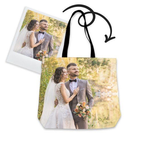 Personalized Tote Bag with Celebration Photos
