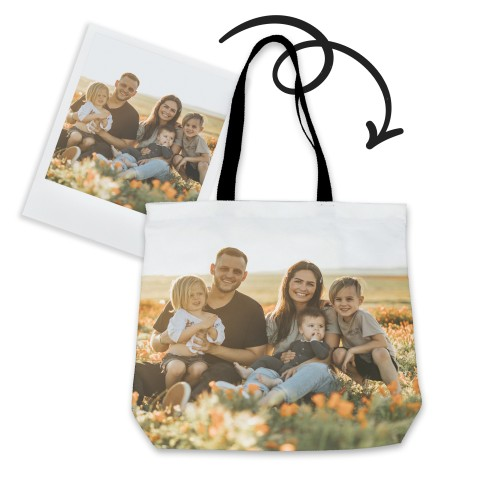 Personalized Tote Bag with Family Photo